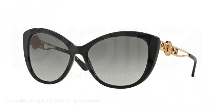 Gafas de sol Versace VE4295 GB1/11 BLACK - GRAY GRADIENT