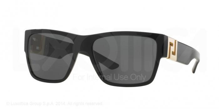 Gafas de sol Versace VE4296 GB1/87 BLACK - GRAY