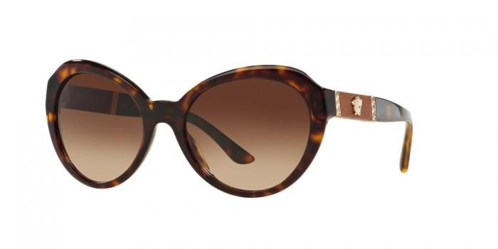 Gafas de sol Versace VE4306Q 108/13 HAVANA - BROWN GRADIENT