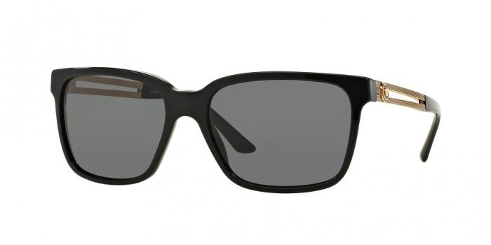 Gafas de sol Versace VE4307 GB1/87 BLACK - GREY