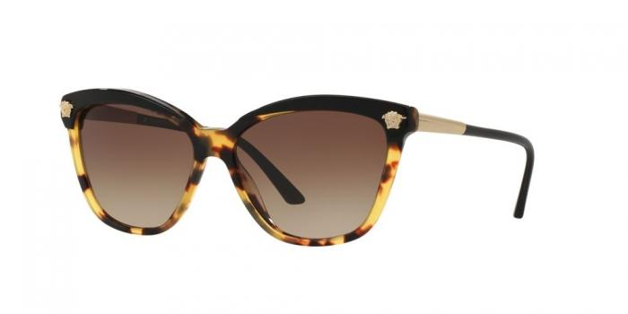 Gafas de sol Versace VE4313 517713 BLACK/HAVANA - BROWN GRADIENT