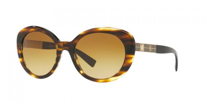 Gafas de sol Versace VE4318 52022L STRIPED HAVANA - YELLOW GRADIENT