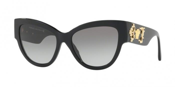 Gafas de sol Versace VE4322 GB1/11 BLACK - GRAY GRADIENT
