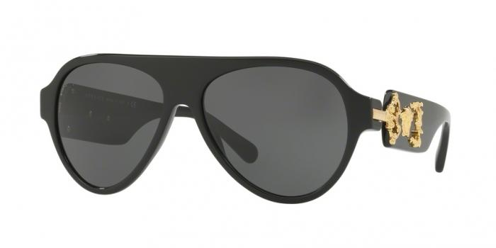 Gafas de sol Versace VE4323 GB1/87 BLACK - GRAY