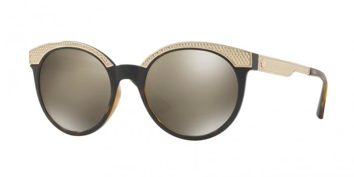 Gafas de sol Versace VE4330 108/5A HAVANA - LIGHT BROWN MIRROR DARK GOLD
