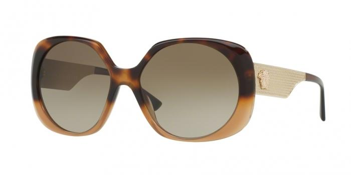 Gafas de sol Versace VE4331 520513 HAVANA/LIGHT BROWN - BROWN GRADIENT