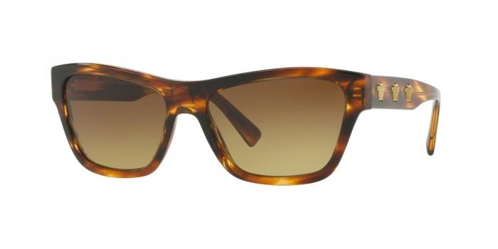 Gafas de sol Versace VE4344 502513 STRIPED HAVANA - BROWN GRADIENT