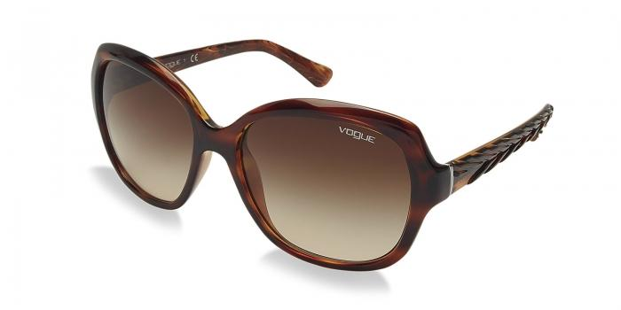 Gafas de sol Vogue VO2871 150813 STRIPED DARK HAVANA - BROWN GRADIENT