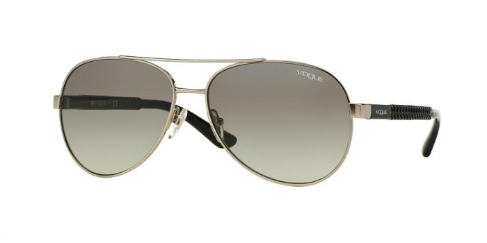 Gafas de sol Vogue VO3997S 323/11 BRUSHED SILVER - GRAY GRADIENT