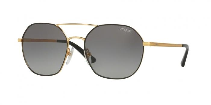 Gafas de sol Vogue VO4022S 352/11 MATTE BLACK/GOLD - GREY GRADIENT