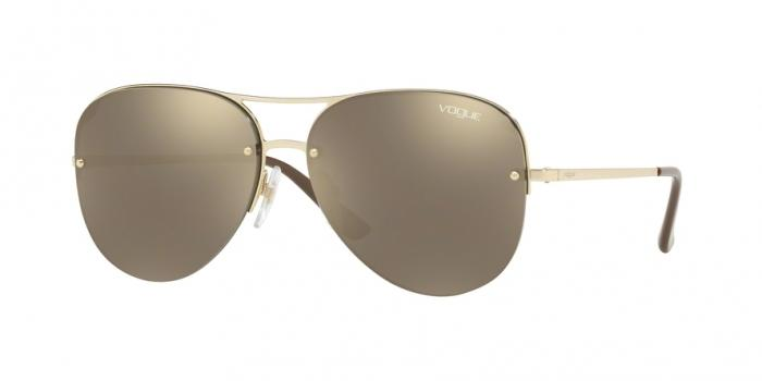 Gafas de sol Vogue VO4080S 848/5A PALE GOLD - LIGHT BROWN MIRROR GOLD