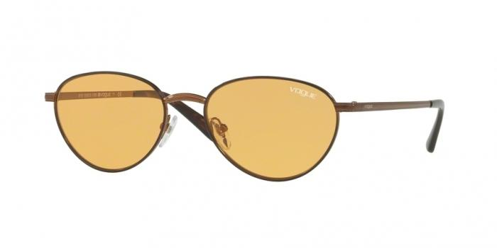 Gafas de sol Vogue VO4082S GIGI HADID X VOGUE 5074/7 COPPER LIGHT BROWN - ORANGE