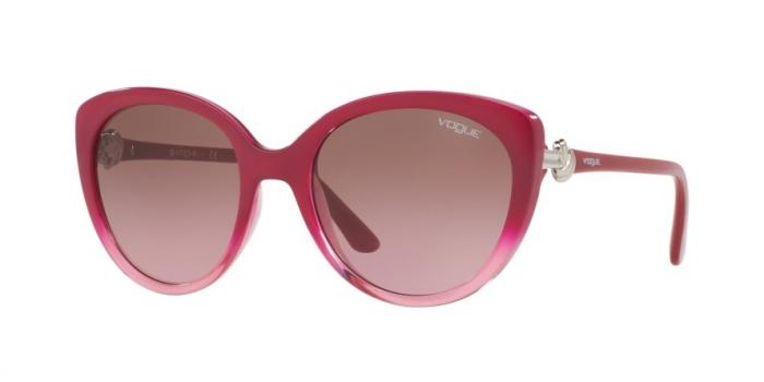 Gafas de sol Vogue VO5060S 211114 TOP RED GRADIENT PINK - PINK GRADIENT BROWN