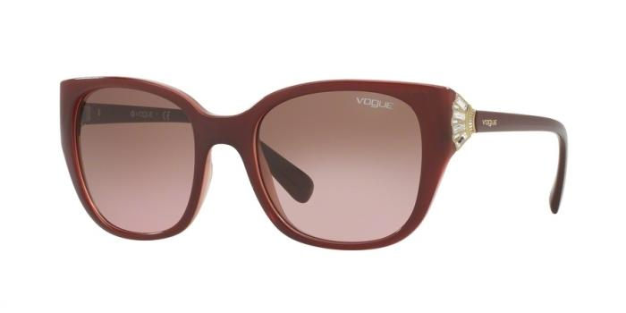 Gafas de sol Vogue VO5061SB 232314 TOP BORDEAUX ON OPAL PINK - PINK GRADIENT BROWN