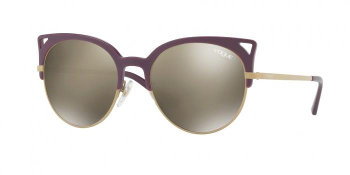 Gafas de sol Vogue VO5137S 25395A VIOLET - LIGHT BROWN MIRROR DARK GOLD