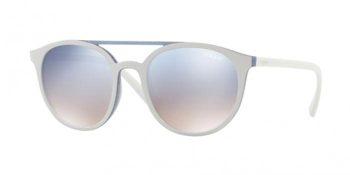 Gafas de sol Vogue VO5195S 25947B TOP BEIGE/AZURE GLITTER - GRAD LIGHT BLUE MIRROR SILVER