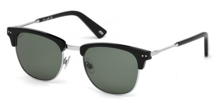 Gafas de sol Web Eyewear WE0170 01N negro brillo / verde