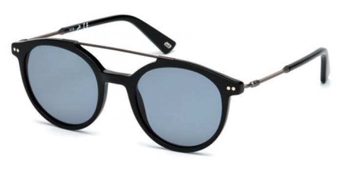 Gafas de sol Web Eyewear WE0185 01V negro brillo / azul