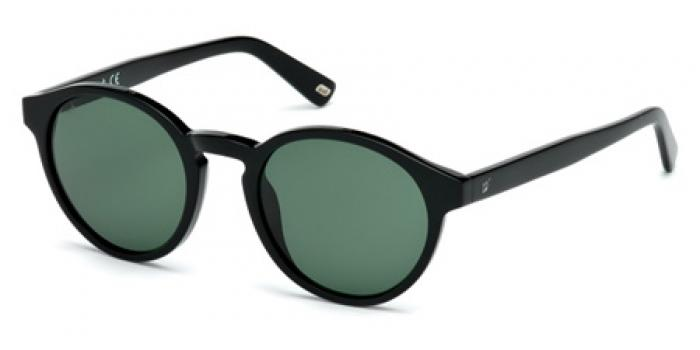 Gafas de sol Web Eyewear WE0187 01N negro brillo / verde
