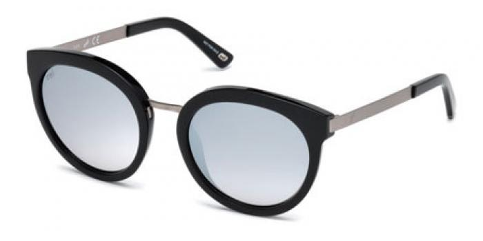Gafas de sol Web Eyewear WE0196 01C negro brillo / gris