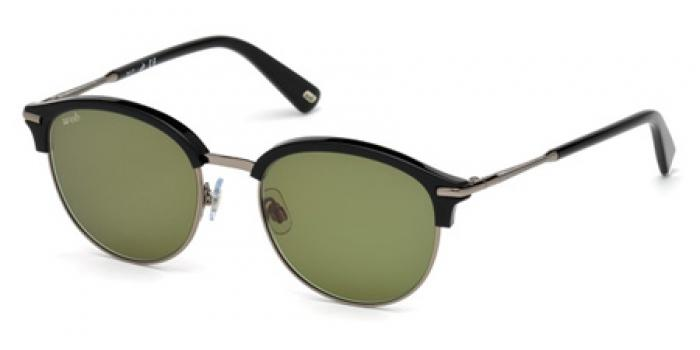 Gafas de sol Web Eyewear WE0205 01Q negro brillo / verde