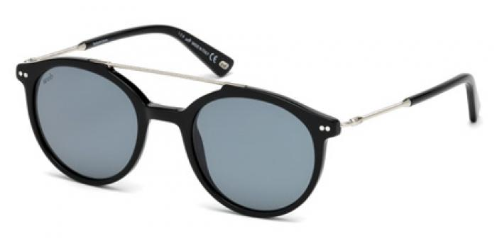 Gafas de sol Web Eyewear WE0215 01A negro brillo / gris