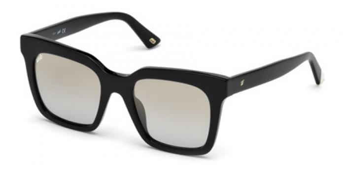 Gafas de sol Web Eyewear WE0222  01C negro brillo / gris