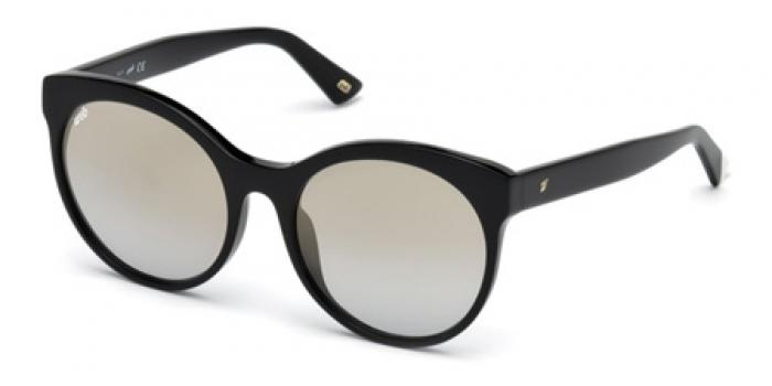 Gafas de sol Web Eyewear WE0223 01C negro brillo / gris