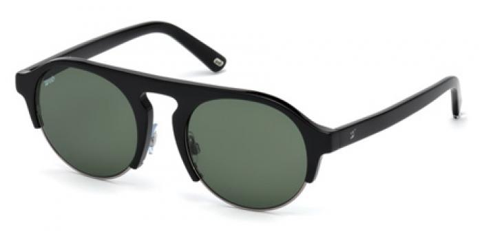 Gafas de sol Web Eyewear WE0224  01N negro brillo / verde