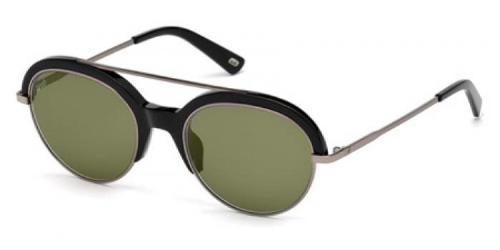 Gafas de sol Web Eyewear WE0226 01Q negro brillo / verde